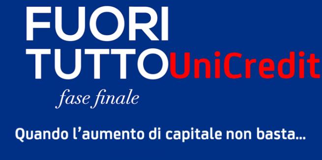"""Continua il """"fuoritutto"""" di #UniCredit"""